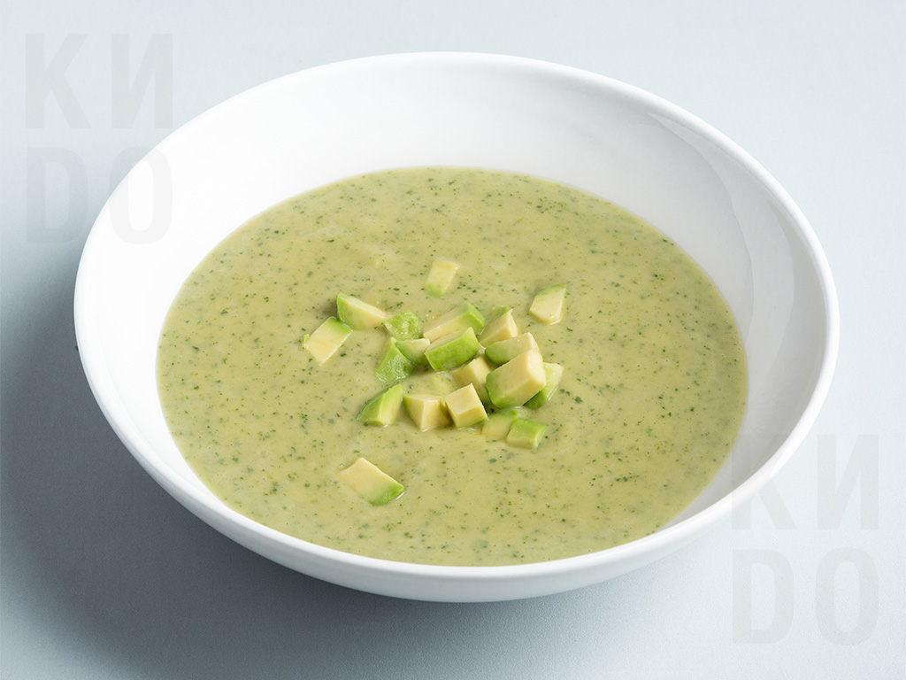Холодный суп из авокадо