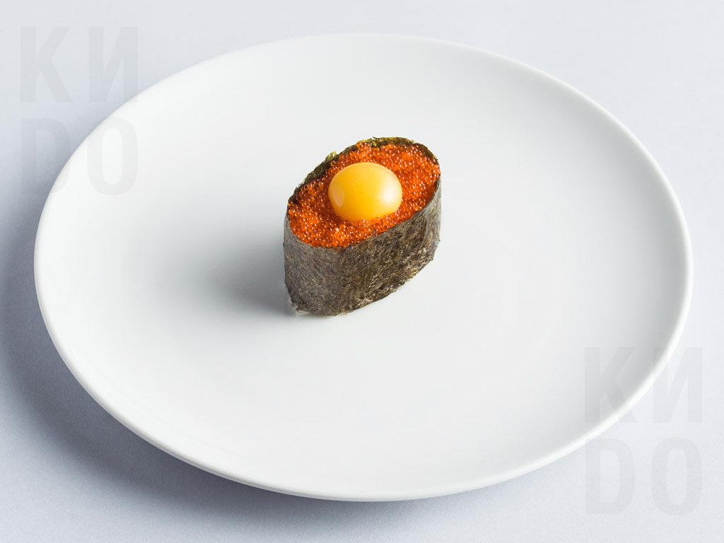 Тобико с яйцом